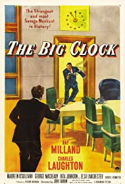The Big Clock Poster