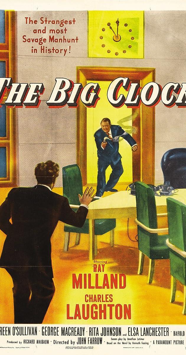 Subtitle of The Big Clock