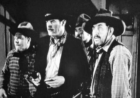Ben Corbett, Slim Whitaker, and Harry Woods in Haunted Gold (1932)