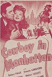 Cowboy in Manhattan Poster