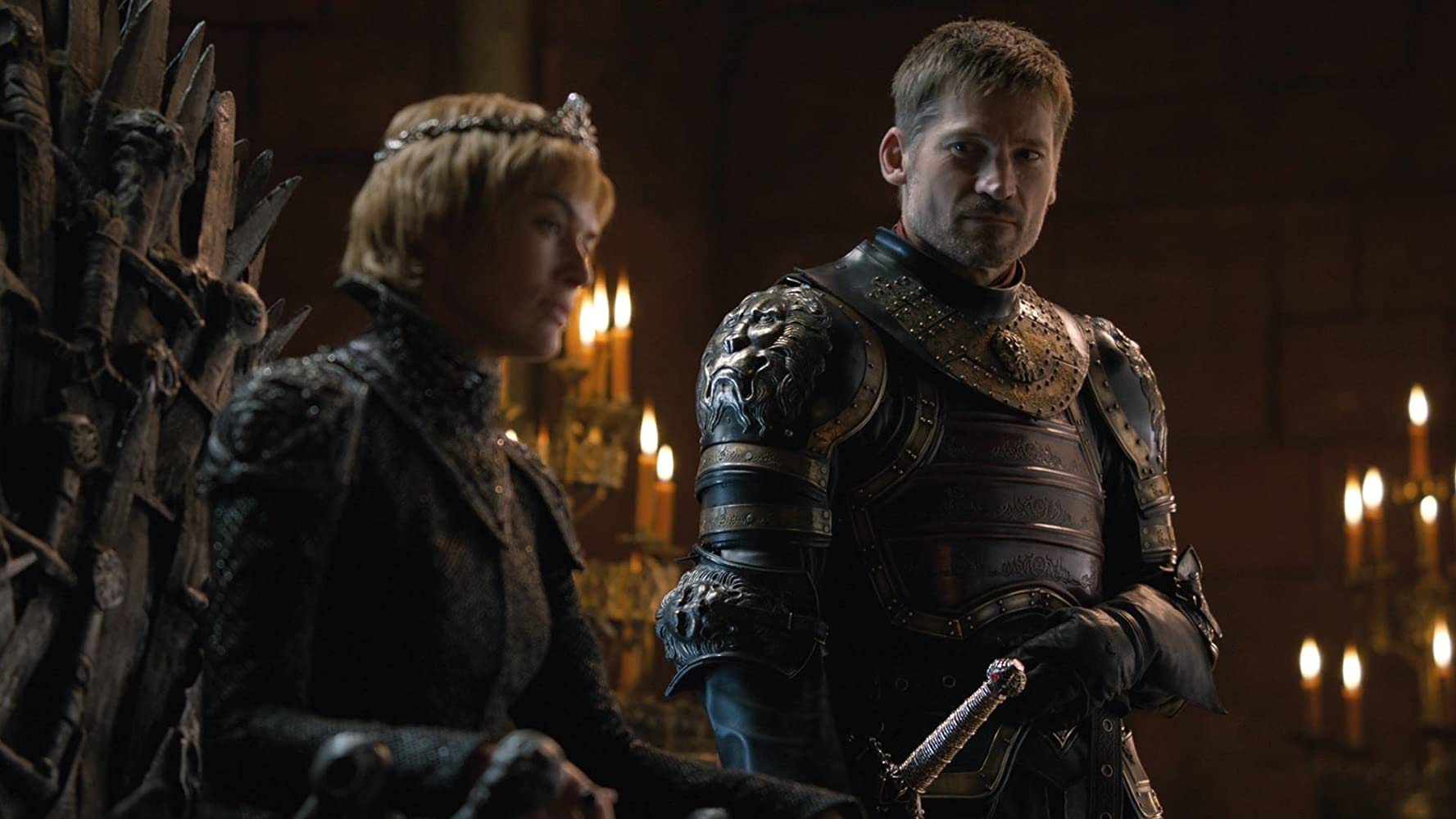 Nikolaj Coster-Waldau and Lena Headey in Game of Thrones (2011)