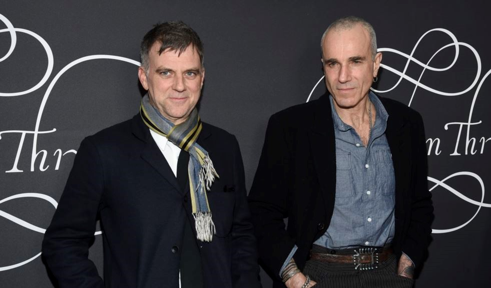 Daniel Day-Lewis and Paul Thomas Anderson at an event for Phantom Thread (2017)