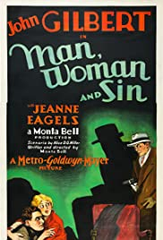 Man, Woman and Sin Poster