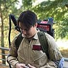 Chris Kato as Oscar Barrett in Ghostbusters: The Series