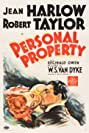 Personal Property (1937) Poster
