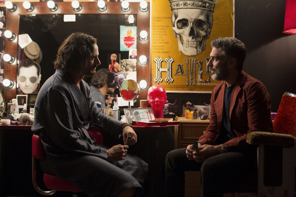 Leonardo Sbaraglia and Asier Etxeandia in Dolor y gloria (2019)