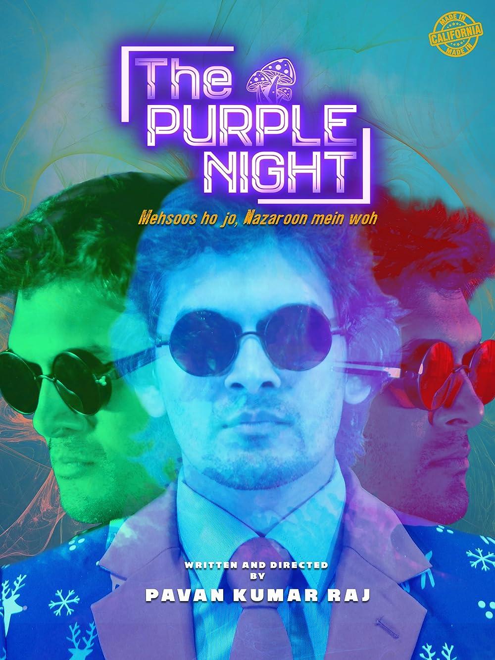 The Purple Night 2021 Hindi 1080p HDRip ESub 851MB Download