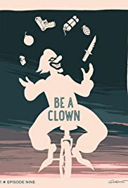 Be a Clown Poster