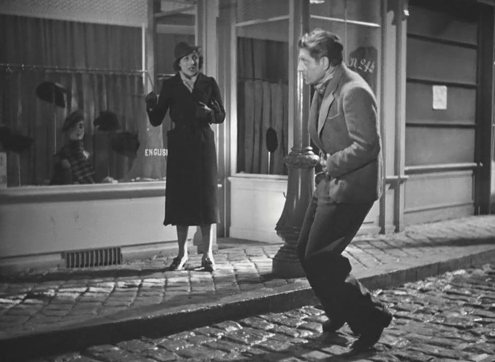 Jean Gabin in Le quai des brumes (1938)