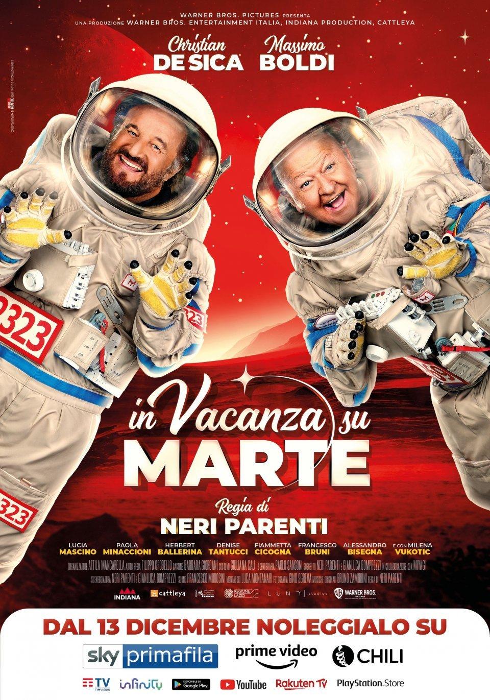 Filme In vacanza su Marte - Legendado Download