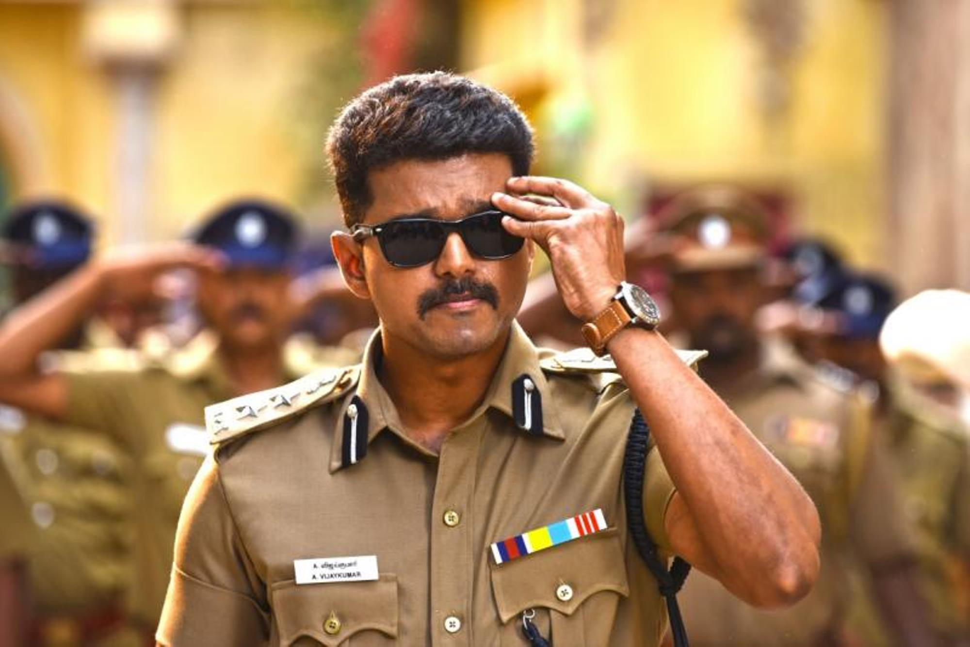 Joseph Vijay in Theri (2016)