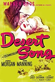 Irene Manning and Dennis Morgan in The Desert Song (1943)