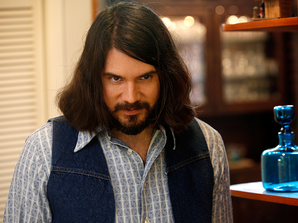 """David Burkhart portraying Charles Manson on the season two premiere of """"Murder Made Me Famous"""" on Reelz Channel."""