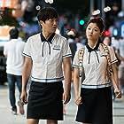 Tae-Hyun Cha and Kim Yoo-jeong in Saranghagi Ttaemoone (2017)