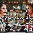 Chastity Cardona and Britt Baker in All Elite Wrestling: Rampage (2021)