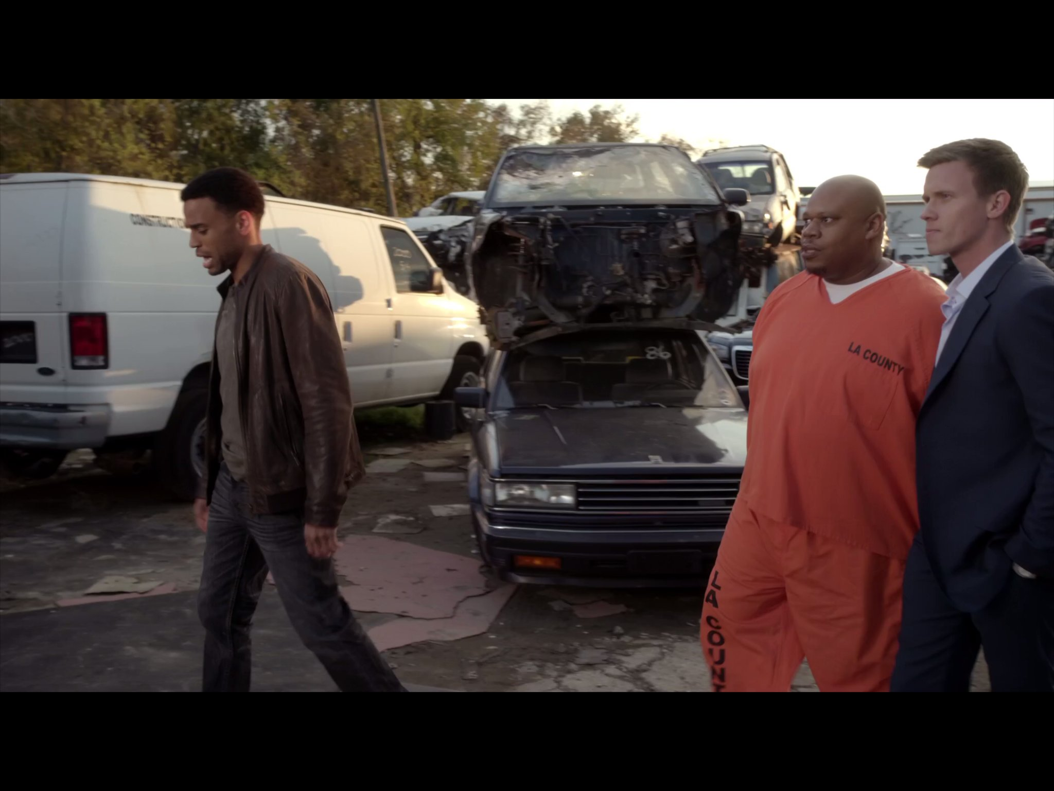 A still of Michael Ealy, Warren Cole and Billy Griffith in USA's Common Law