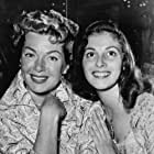 Pier Angeli and Lana Turner in Flame and the Flesh (1954)