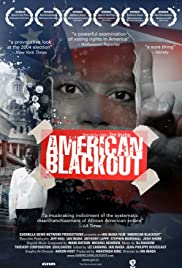 American Blackout Poster