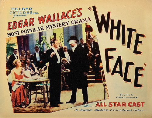 Renee Gadd, Gordon Harker, and Hugh Williams in White Face (1932)