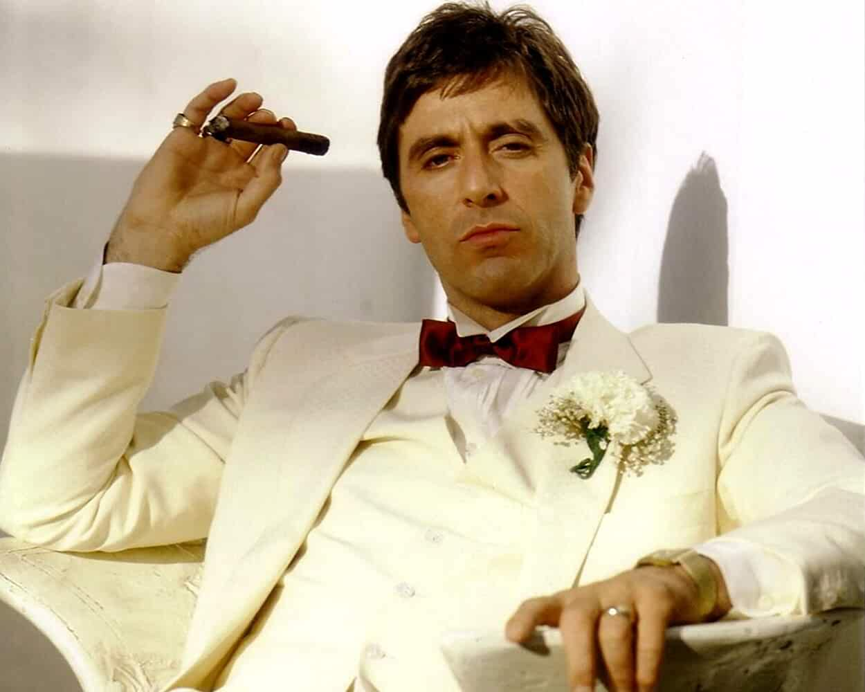 Al Pacino in Scarface 1983