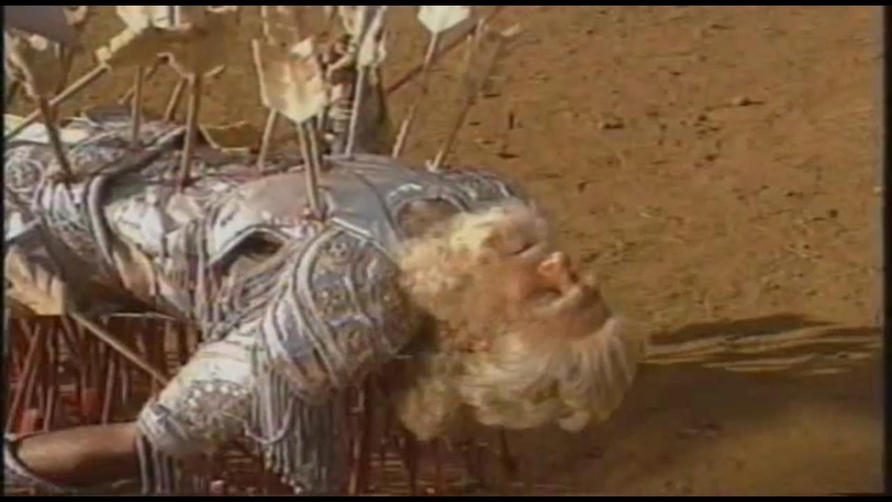 Mahabharat Bhishma Lies On The Bed Of Arrows Karna Meets Bhisma Tv Episode 1990 Imdb