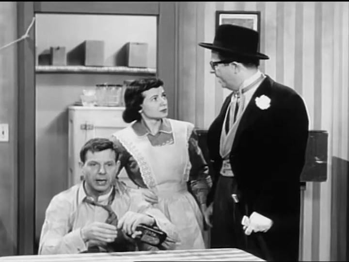 Athena Lorde, Eddie Phillips, and Phil Silvers in The Phil Silvers Show (1955)