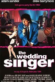 Drew Barrymore and Adam Sandler in The Wedding Singer (1998)
