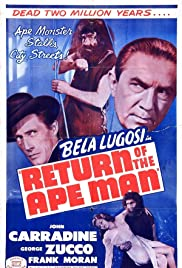 Return of the Ape Man (1944) Poster - Movie Forum, Cast, Reviews