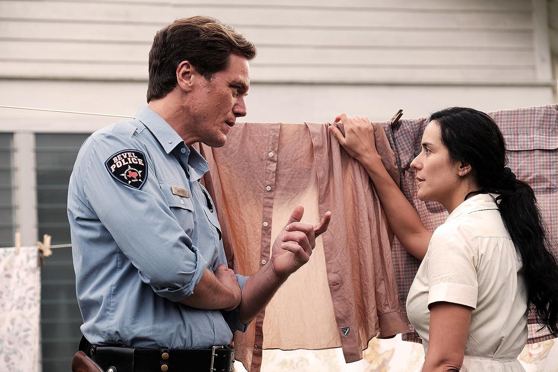 Michael Shannon and Catalina Sandino Moreno in The Quarry (2020)
