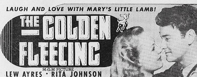 Lew Ayres and Rita Johnson in The Golden Fleecing (1940)