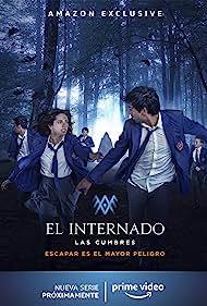 Asia Ortega and Albert Salazar in El Internado: Las Cumbres (2021)