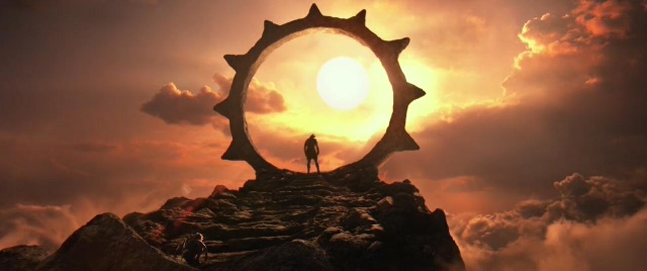 Salah satu adegan di film Gods of Egypt
