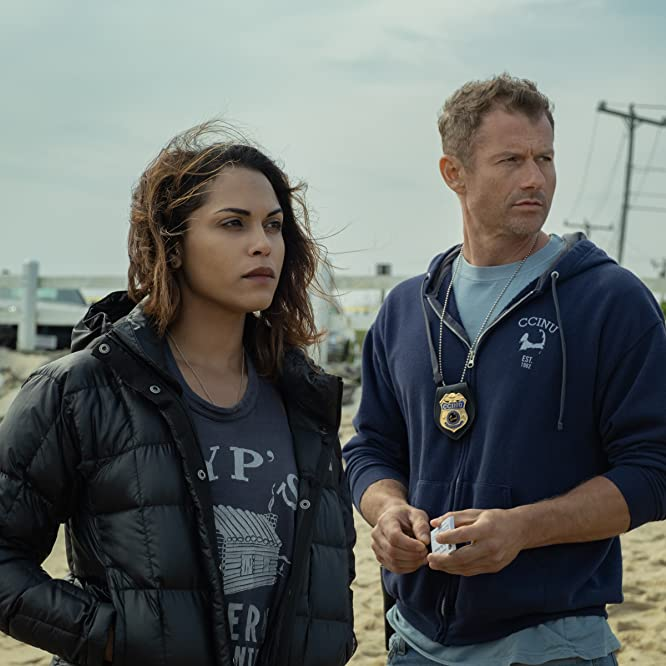 James Badge Dale and Monica Raymund in Hightown (2020)