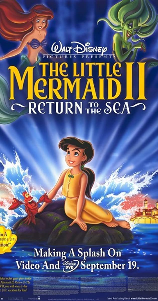 Subtitle of The Little Mermaid 2: Return to the Sea