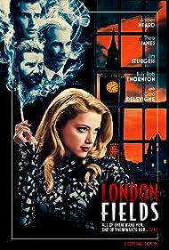 Billy Bob Thornton, Jim Sturgess, Amber Heard, and Theo James in London Fields (2018)