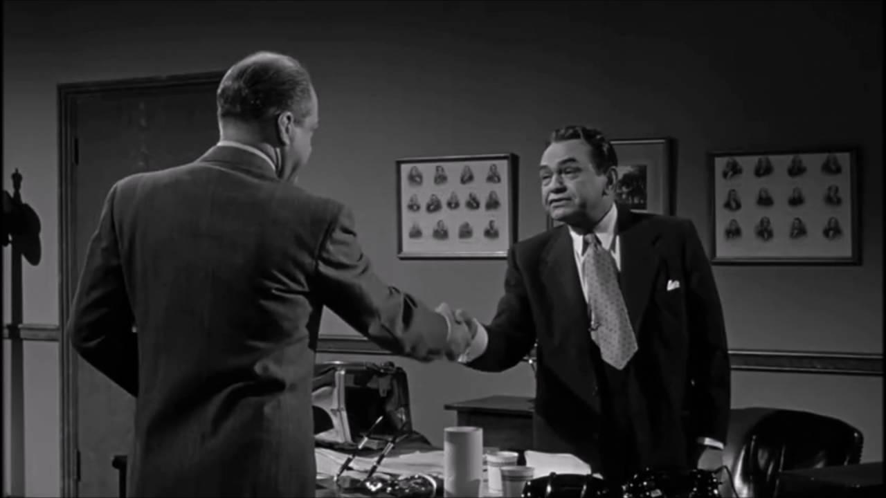 Edward G. Robinson in Tight Spot (1955)