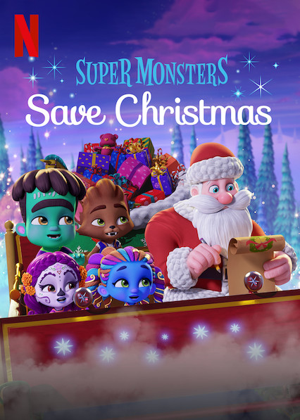 SUPER MONSTRAI IŠSAUGO KALĖDAS (2019) / Super Monsters Save Christmas