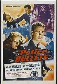 John Archer, Warren Hymer, Joan Marsh, and Milburn Stone in Police Bullets (1942)