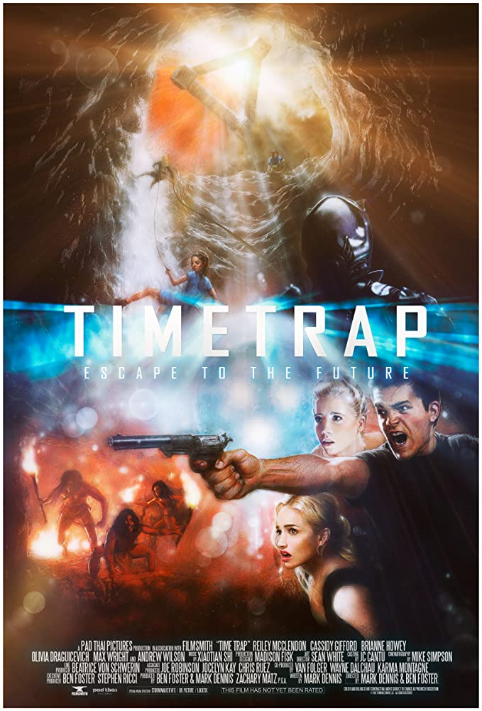 Madison Fisk, Reiley McClendon, Andrew Wilson, Chris Sturgeon, Jessee J. Clarkson, Rich Skidmore, Mike Simpson, Cassidy Gifford, Olivia Draguicevich, Max Wright, Ben Foster, Mark Dennis, Hans Marrero, and Brianne Howey in Time Trap (2017)