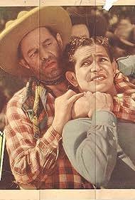 Eddie Dunn and Bob Steele in South of Santa Fe (1932)