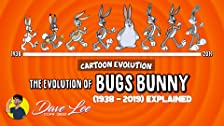 Evolution of Bugs Bunny (1938-2019)