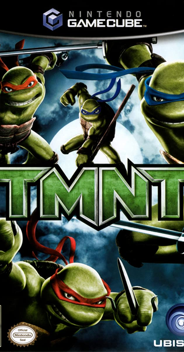 Teenage Mutant Ninja Turtles Video Game 2007 Nolan North As