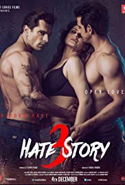 Hate Story 3 (2015) Poster - Movie Forum, Cast, Reviews