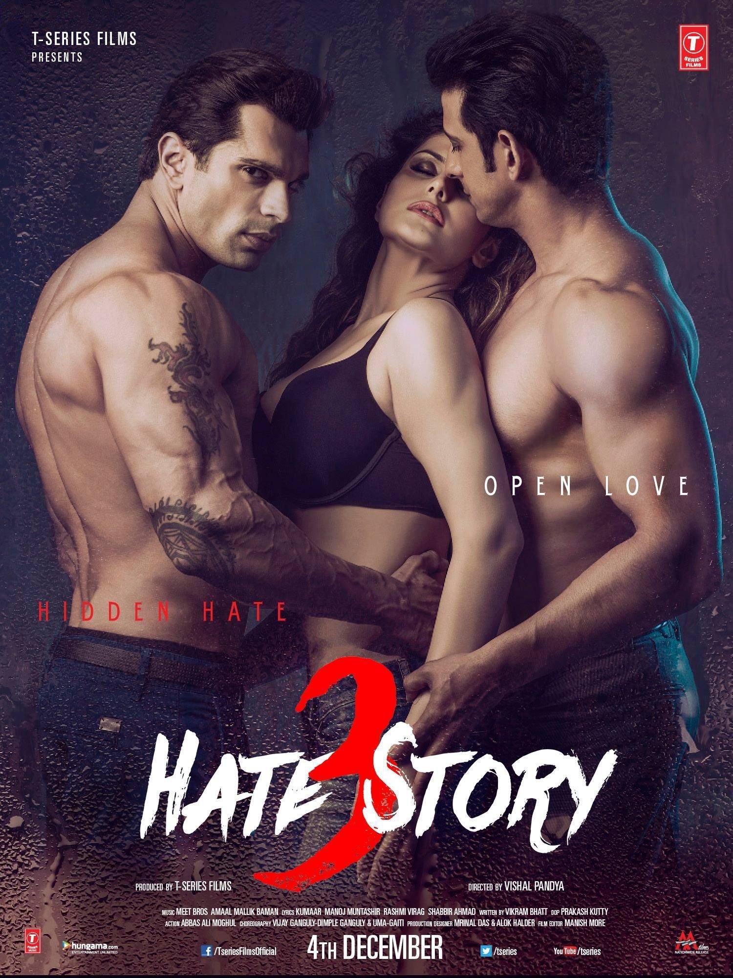 Hate Story 3 (2015) Hindi Full Movie 480p, 720p Download
