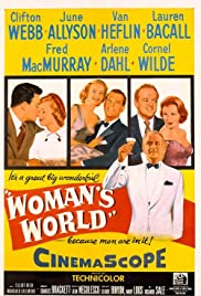 Woman's World (1954) Poster - Movie Forum, Cast, Reviews