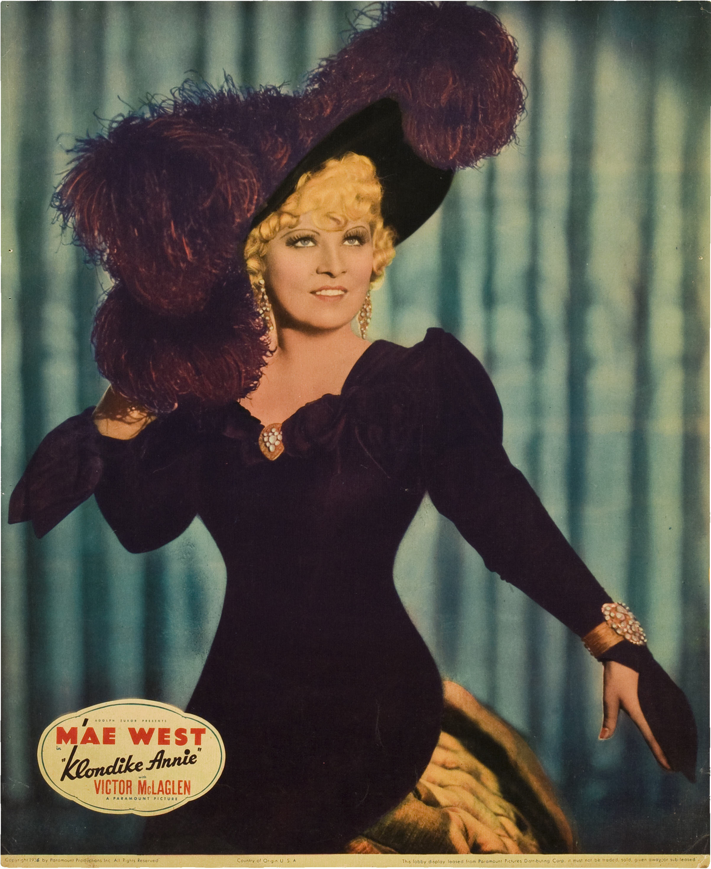 Mae West in Klondike Annie (1936)