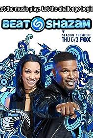 Jamie Foxx and Corinne Foxx in Beat Shazam (2017)