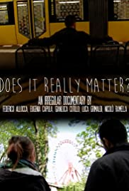 Does It Really Matter? Poster
