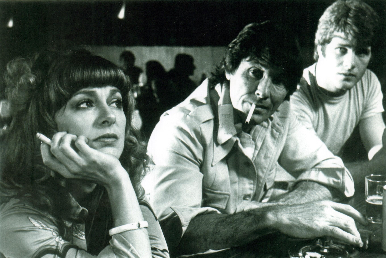 Brian Patrick Clarke, Micheline Lanctôt, and William Smith in Blood & Guts (1978)