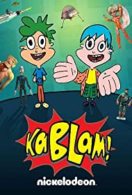 Julia McIlvaine and Noah Segan in KaBlam! (1996)
